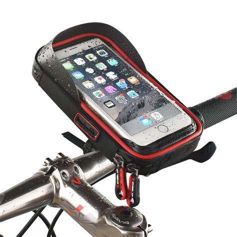 Waterproof Motorcycle 5 5inch Holder Motor Waterproof 6 inch bike bicycle waterproof cell phone bag holder motorcycle mount for samsung galaxy s8 plus