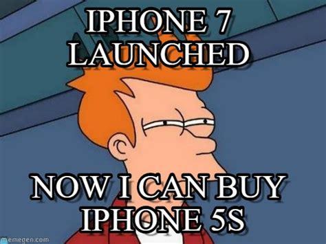 Iphone 5s Meme - iphone 7 iphone 7 launched on memegen