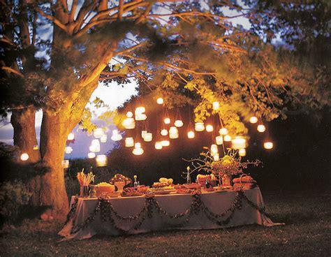 Backyard Wedding Lanterns Hanging Jar Lanterns Flickr Photo