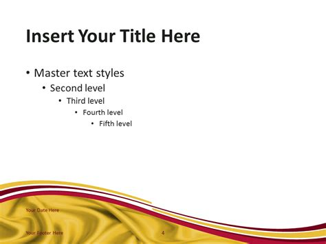slide layout en español spain flag powerpoint template presentationgo com