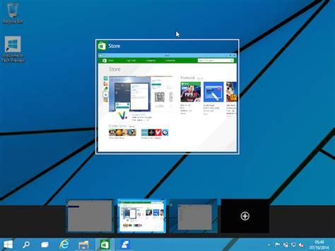 windows 10 comment pour utiliser plusieurs bureaux