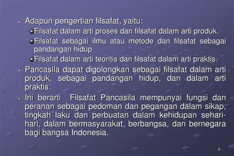 ppt ppt pancasila sebagai sistem filsafat powerpoint presentation id 7502791