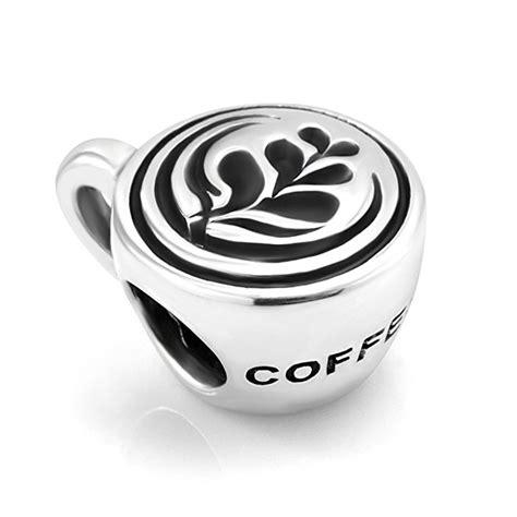 coffee mug pandora charm