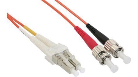 lwl kabel 62 5 125um om1 lc st 3 m orange fibrefab - Lwl Kabel Kaufen