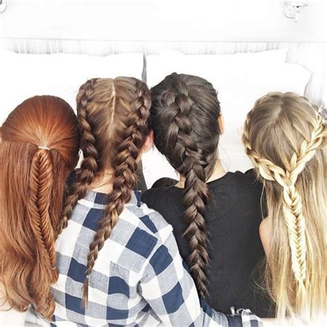 sallys differant style braits 7 different types of braids tutorials how many of these