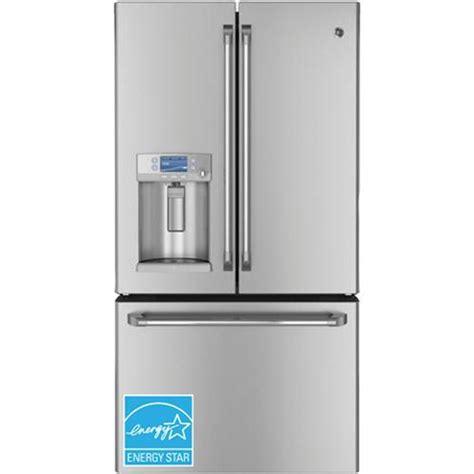 ge 28 6 door refrigerator ge cfe29tsdss 28 6 cuft door refrigerator built in