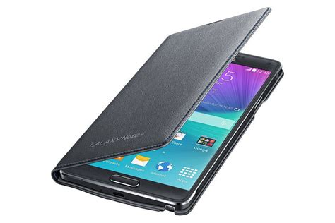 Samsung Led Wallet Note 4 etui samsung led flip wallet do galaxy note 4 grafitowe