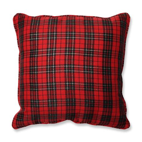 plaid throw pillows couch pillow perfect 552972 holiday plaid throw pillow atg stores