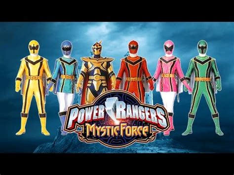 theme songs power rangers theme song power rangers mystic force youtube
