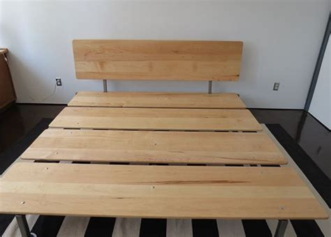 Diy Platform Bed Plans Furniture Best 25 Modern Platform Bed Ideas On