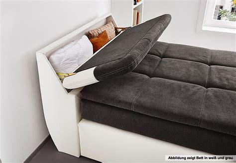 bett kopfteil ausziehbar boxspringbett odessa schlafzimmerbett bett in schwarz grau
