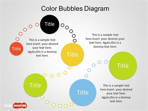 Templates Powerpoint Original | color bubble diagrams for powerpoint