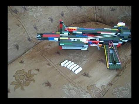 lego crossbow tutorial homemade lego crossbow tutorial working youtube