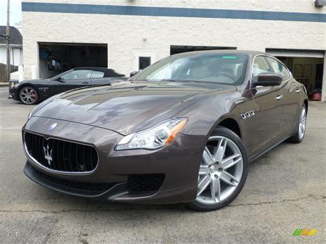 2014 Bronzo Siena Bronze Metallic Maserati Quattroporte