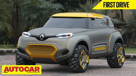 Renault Kwid Concept   First Drive   Autocar India   YouTube
