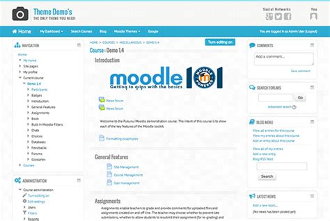 moodle theme top 10 moodle in english essential theme 2 5 2 released
