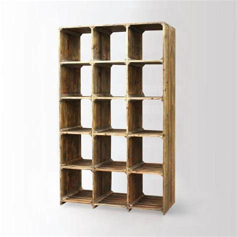 bleached pine bookcase west elm