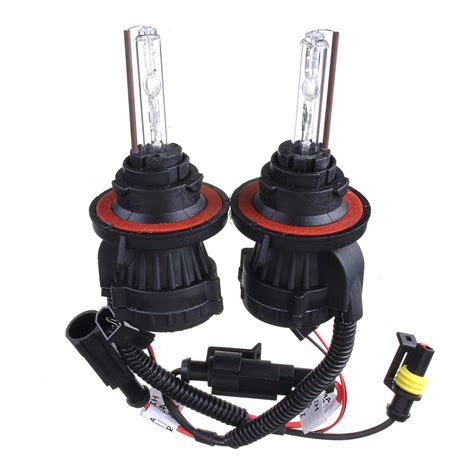 dual beam high  hid bi xenon bulbs dcv car headlight kit alexnldcom