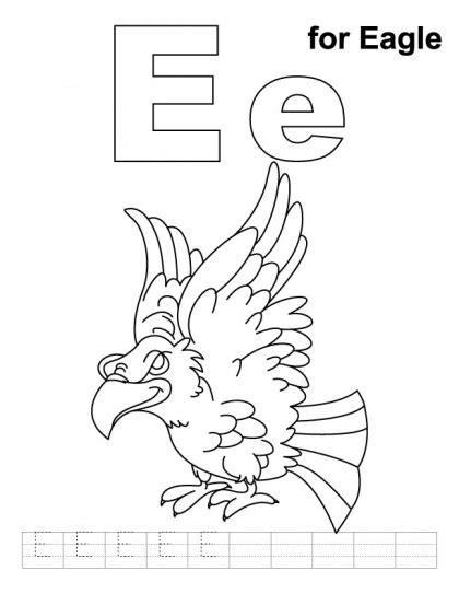 eagle coloring pages preschool 27 best birds eagles for preschool images on pinterest
