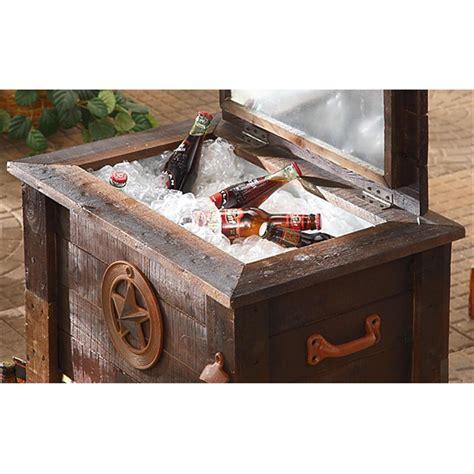 guide gear 174 rustic cooler 57 quart 173424 decorative