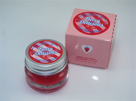 New Etude House Berry Delicious Strawberry Lip Jam 15gr Stok Terbatas etude house berry delicious strawberry lip jam review