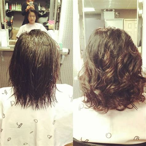 can asian hair be permed image result for stacked spiral perm on short hair hair