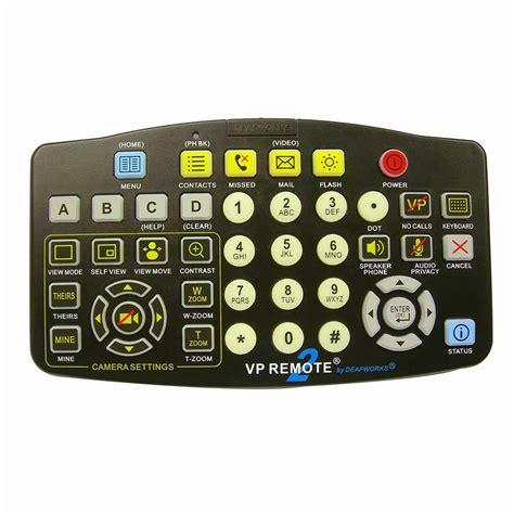 remote control l switch vp remote big button videophone remote control large