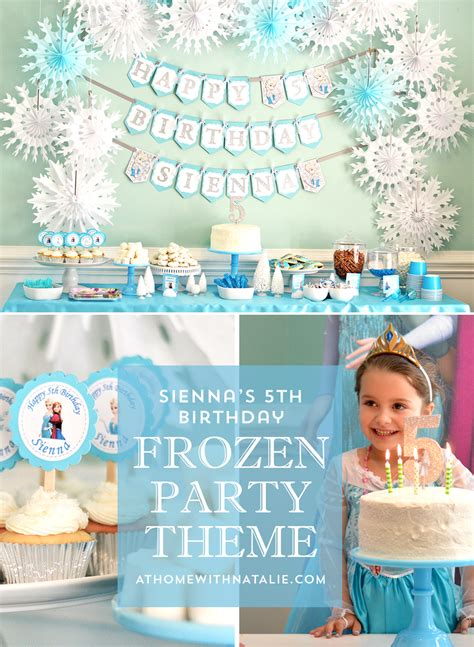 frozen birthday decoration ideas at home decor accents