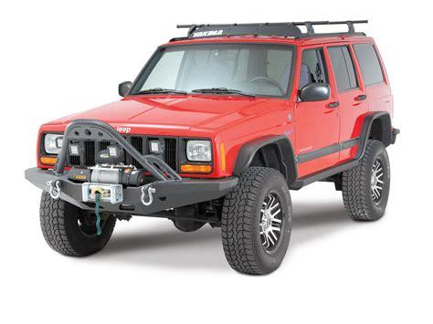 smittybilt jeep bumpers smittybilt 76812 xrc stinger for 84 01 jeep xj