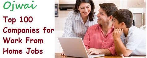 earn money from work from home company list