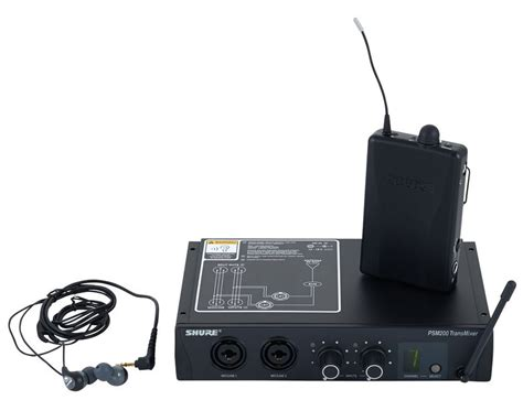 Harga Ear Monitor Shure Psm 200 shure psm 200 se112 set s5 thomann uk