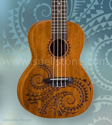 concert ukulele tattoo new for 2010 photo courtesy of