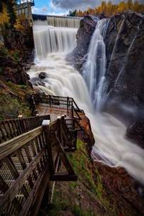 Colorado Springs Stairs by Dramatic Seven Falls Colorado Springs Colorado The