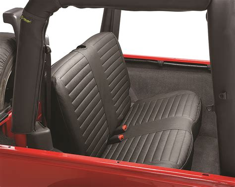 rear bench seat covers bestop 174 29229 35 black diamond rear bench seat cover for