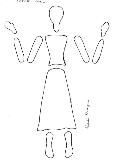paper dolls template best 20 paper doll template ideas on