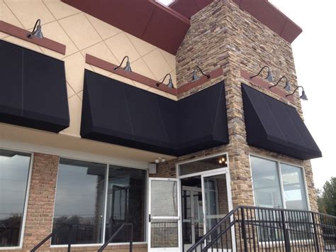 storefront awning designs black canvas storefront awnings design ideas pictures