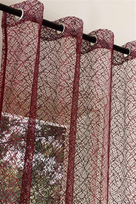 Vorhänge Netzoptik by Gardine Netz Struktur Mit 214 Sen Einfarbig Transparent 1