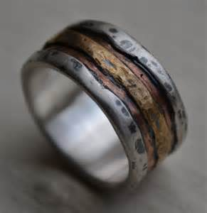 reserved for mens wedding band rustic silver