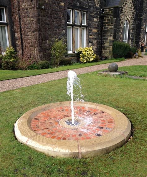 yorkshire water features upperwood hall bubble fountain