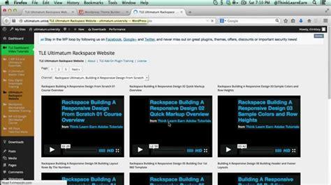 tutorial ultimatum wordpress watch wordpress and ultimatum training videos tutorials in