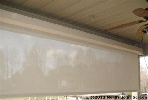 Pull Down Outdoor Blinds Baby Grande Solar Heavy Duty Outdoor Shades North Solar