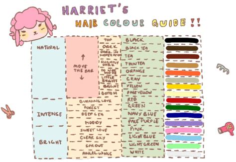 acnl hair color guide tumblr nbym384qep1tijqubo1 500 png 500 215 344 pixels animal