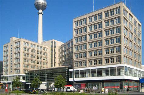 behrens berlin berolinahaus en alexanderplatz por behrens metalocus
