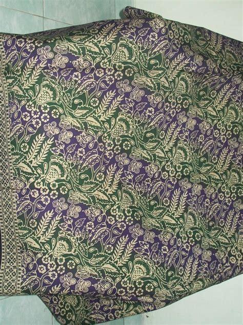 Kain Batik Cap Medan Biru kain batik murah asli dan batik cap gradasi dengan