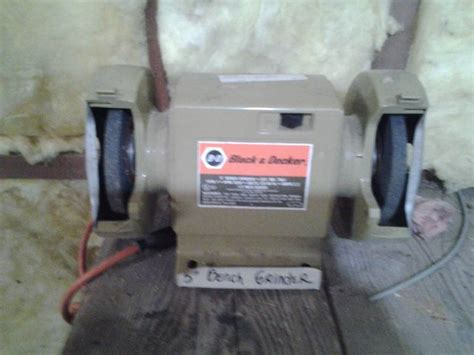 black and decker 5 inch bench grinder black decker 5 inch bench grinder new hope moving sale