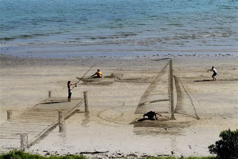 Sand L by The Of The Optical Illusion Phil Ebersole S