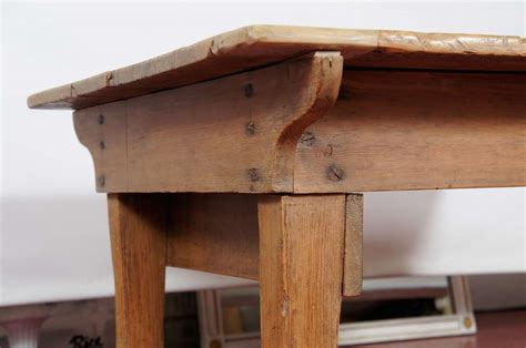 Rustic Country Coffee Table Rustic Country Pine Coffee Table At 1stdibs