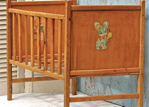 Baby Doll Wooden Crib Reserved For D Vintage Wooden Doll Crib