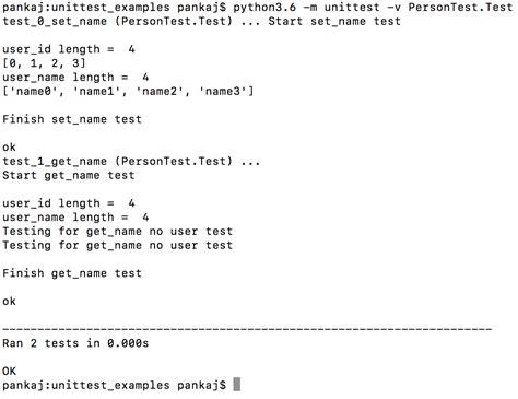 tutorial php unit test python unittest unit test exle journaldev