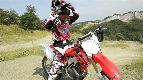 honda racing motocross motocross test team prova honda crf 250 e crf 450 2012